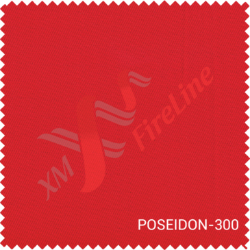 Poseidon-300 fr fabric gets EN 61482-1-1