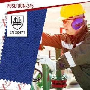 POSEIDON-245 (Royal Blue) is certified to EN 20471 (Contrast colours)