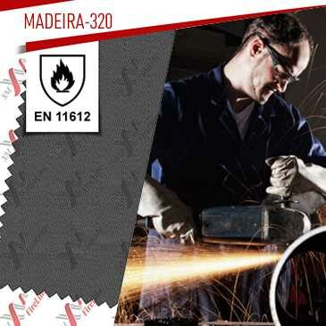 Madeira-320 flame retardant fabric update to EN 11612:2015