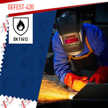 Gefest-420 certified to EN ISO 11612